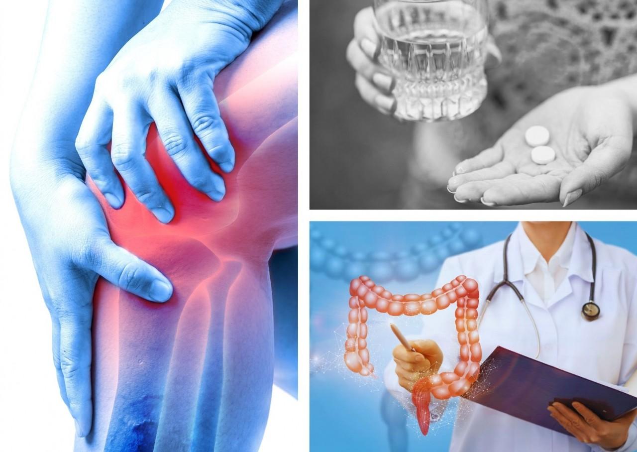 Schmerzmittel und Dein Darm